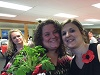 Mother/Daughter Banquet: Flowers may fade, but mothers, daughters and friends are forever!
