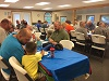 2017 Father-Son Banquet: Everyone enjoys breakfast!