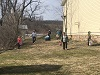2018 Easter Egg Hunt: Final Sweep through the area. . . . .